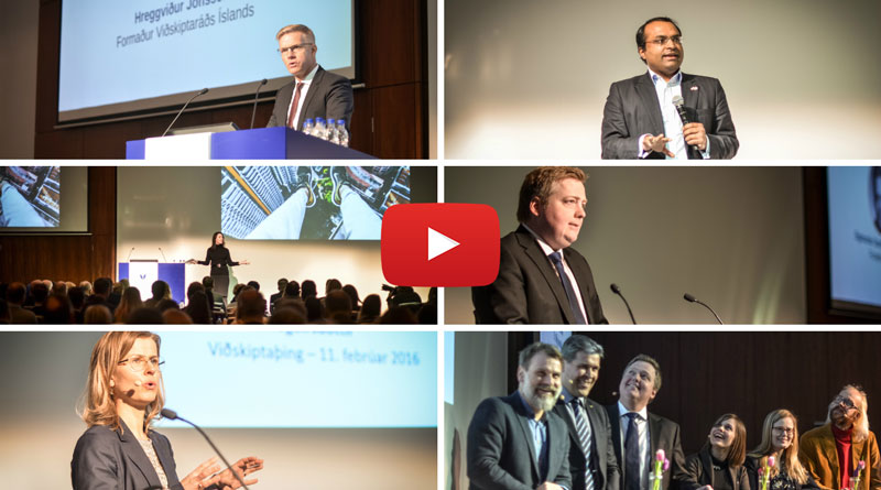 Recordings from the annual Iceland Business Forum